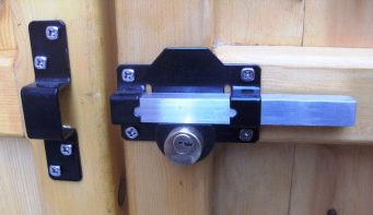 Gate rim lock : door ledge lock - pezcame.com