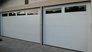 Tinted Garage Windows
